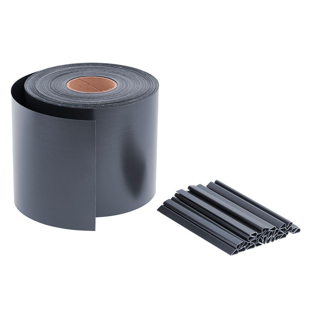 65m Sichtschutz Premium 680g/m2 Anthrazit RAL 7016 auf Rolle