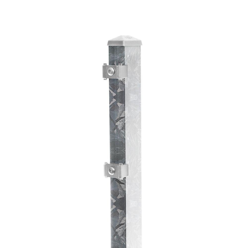 Pfosten Typ 6 Höhe 1,63 m mit Klemmteile verzinkt