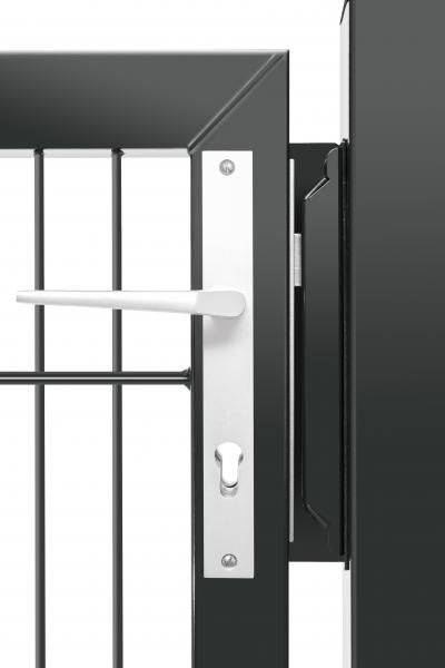 Premium-Pforte - 1 Flügel - 1430 X 1250mm ANTHRAZIT