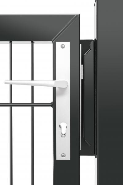 Premium-Pforte - 1 Flügel - 2030 X 1500mm ANTHRAZIT
