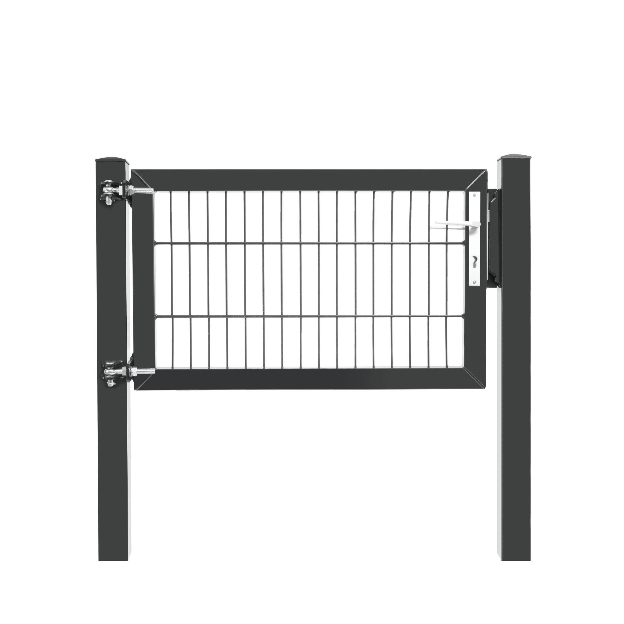 Premium-Pforte - 1 Flügel - 0630 X 1000mm ANTHRAZIT
