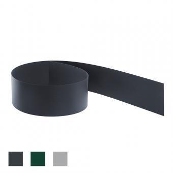 Sichtschutz ca. 2525 mm x 190 mm Streifen aus Hart-PVC Anthrazit RAL 7016